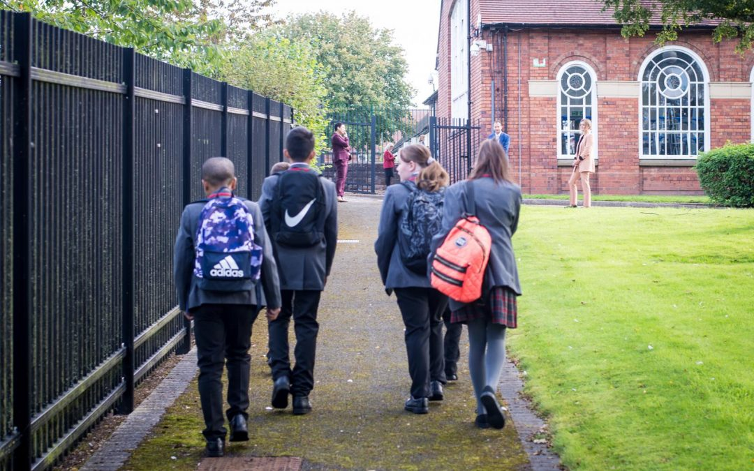 Proposal to stagger the start and end times of the school day – September 2021